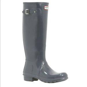 Hunter Original Tall Glossy Rain Boots